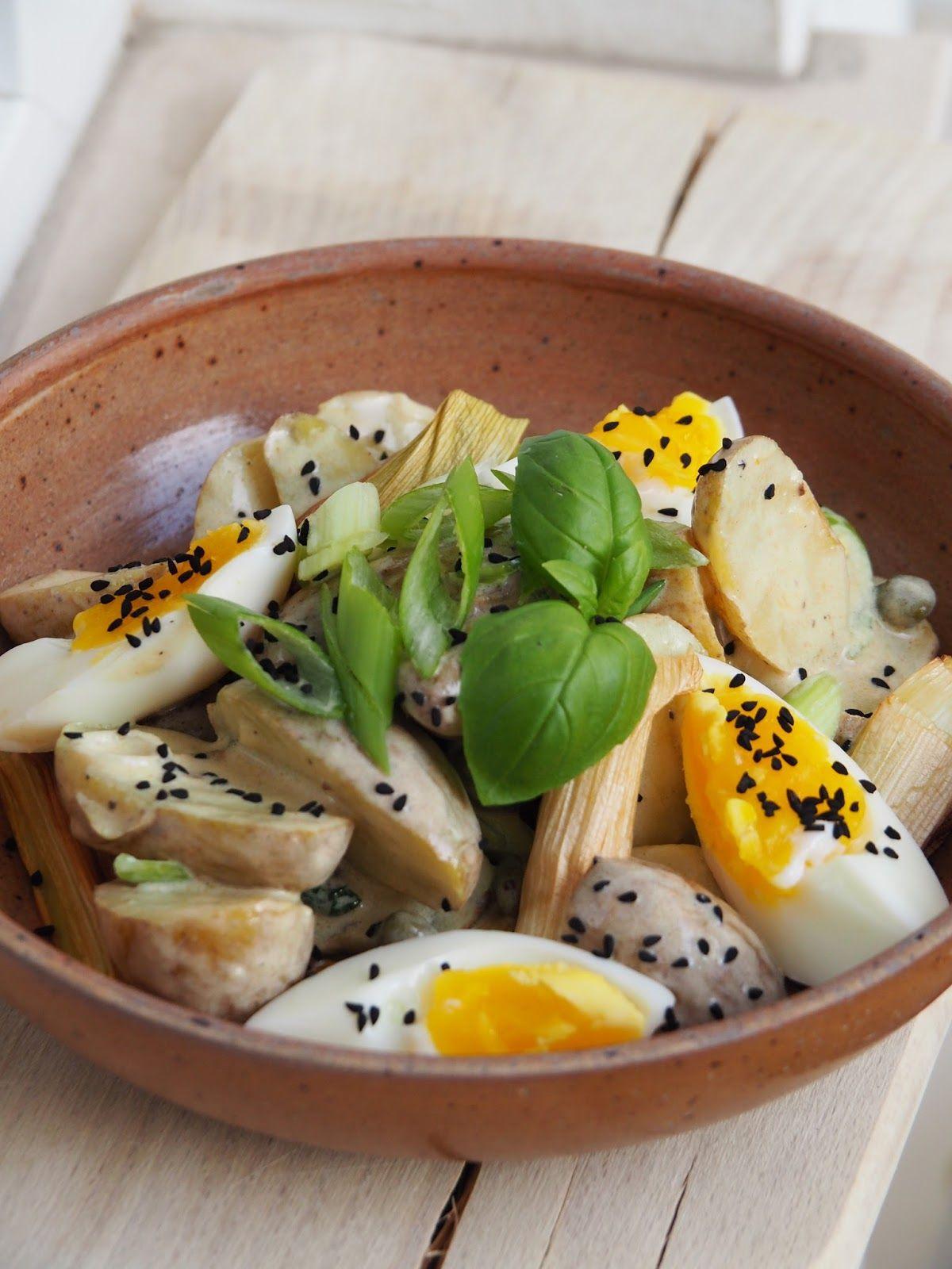 Kartoffelsalat Mit Lauch