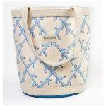 Love this Happy Bottom Coral Lattice Blue Biggy Bag!