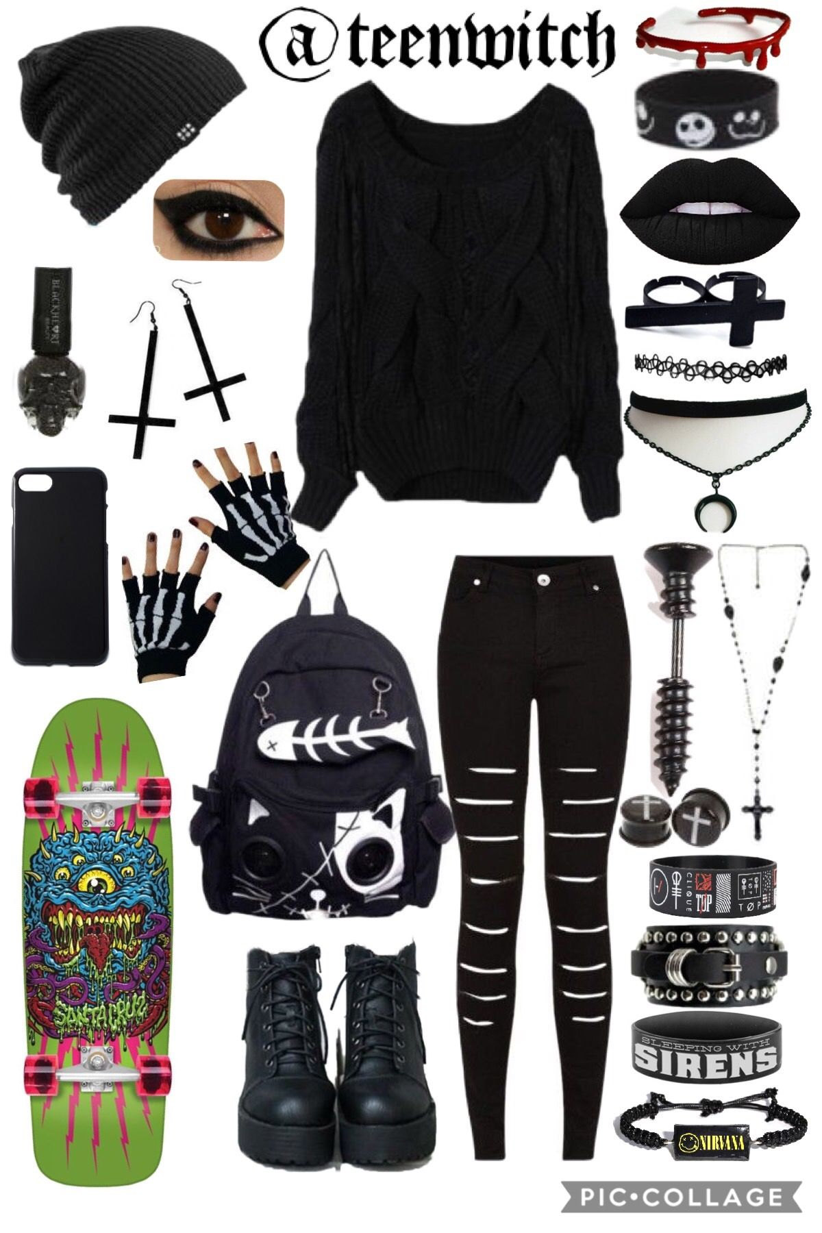 🔮weekend outfit🔮  Scene outfits, Cool outfits, Punk outfits