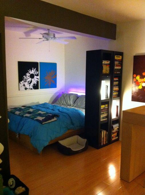 IKEA Studio Apartment Ideas  Studio apartment This is my 600 square foot studio apartment in