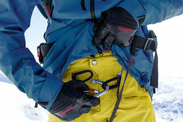 Mammut Damen Klettergurt Ophira Seat : Mammut alyeska gtx pro realization pants with an integrated