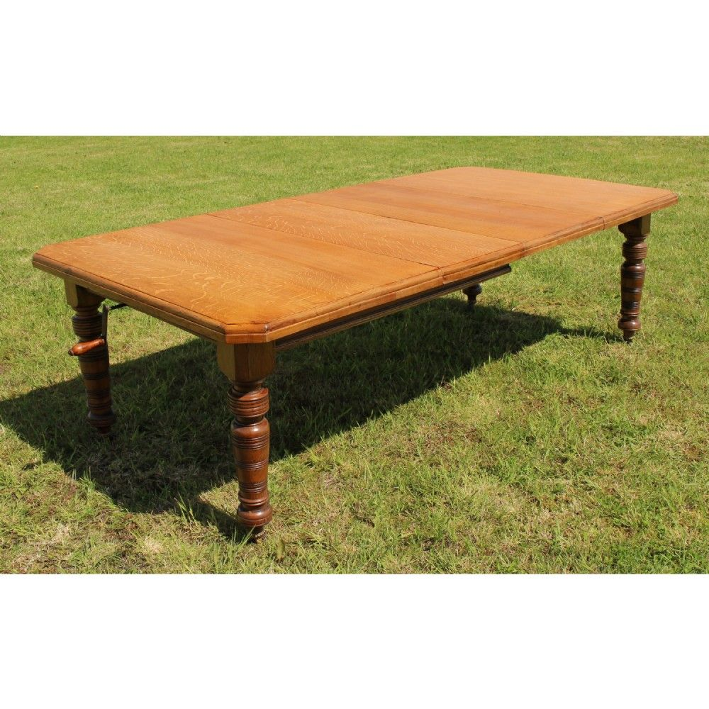 Pin By Jean Ton Sprong On Tafels Oak Extending Dining Table Antique Dining Tables Extendable Dining Table