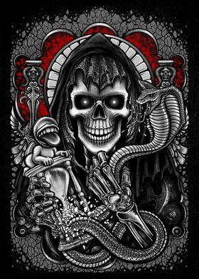 Metal Posters Art