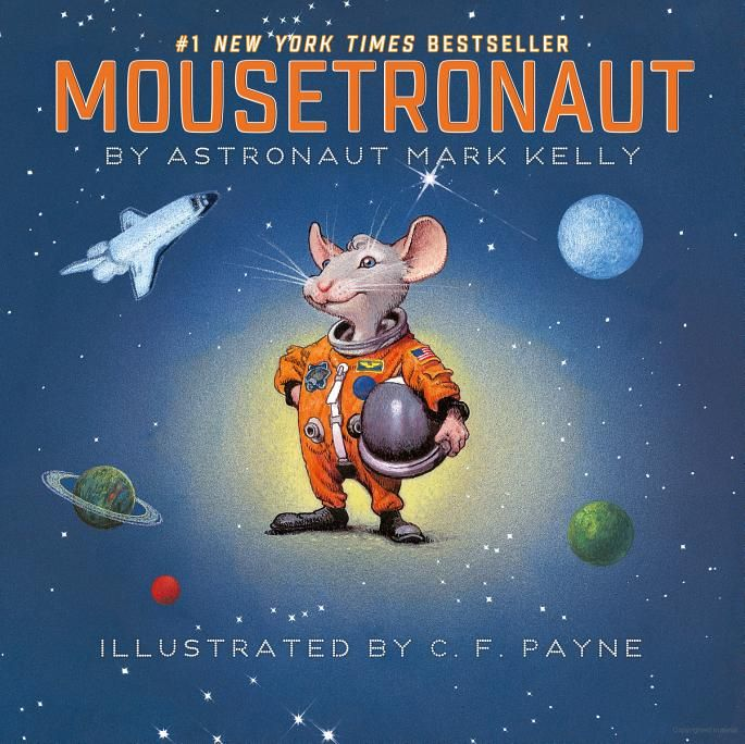 Book: Mousetronaut, Mark Kelly