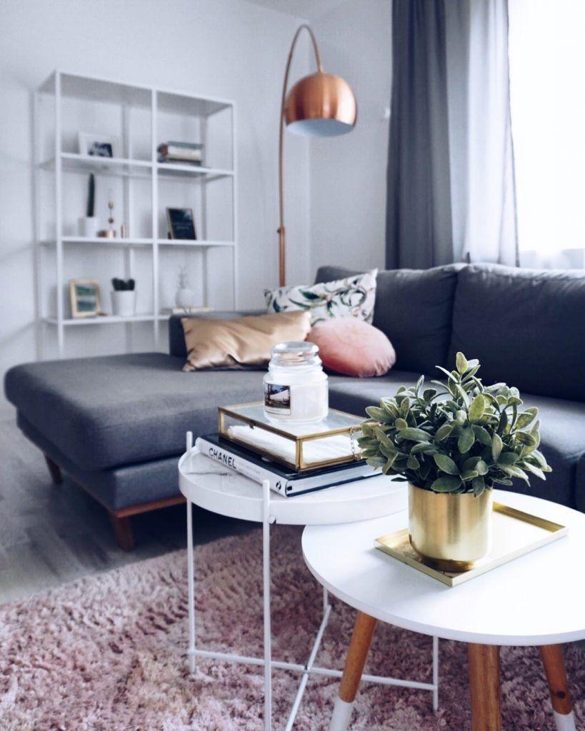 Wohnzimmer   Gold   Kupfer   Messing   Deko   Designermöbel   Ikea    Wohnzimmer