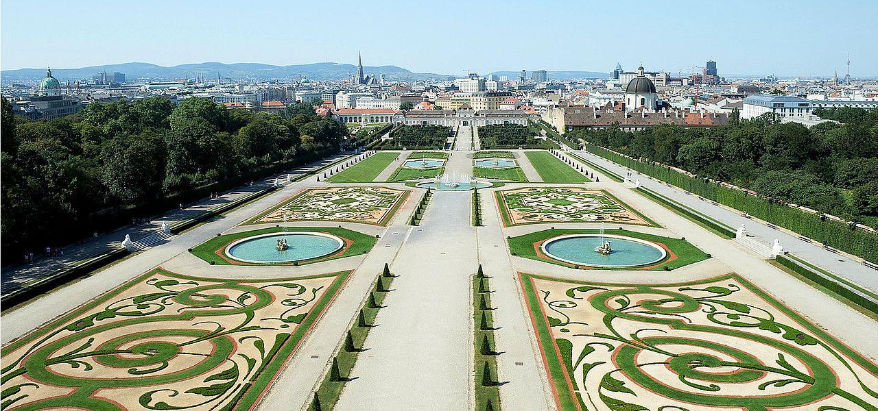 Schlossgarten Schloss Belvedere C Belvedere Eva Wurdinger Oostenrijk Cultuur Activiteiten
