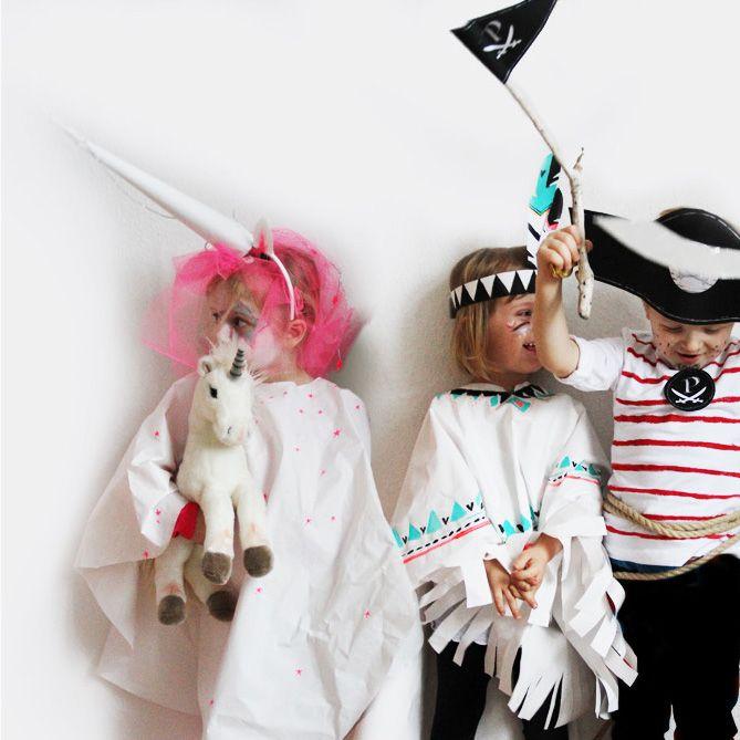 diy einhorn indianer pirat kost me einfach selber machen costume kinder kost me. Black Bedroom Furniture Sets. Home Design Ideas