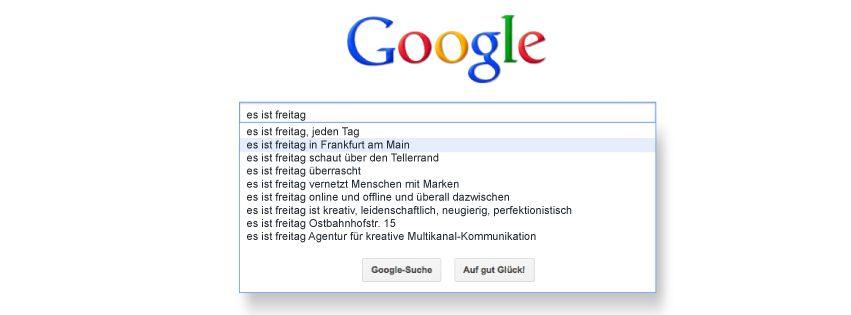 esistfreitag - Facebook-Titelbild am 17.08.2012