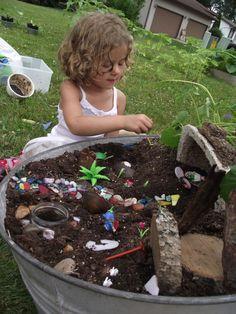 Photo of Jugar ideas de jardín para niños