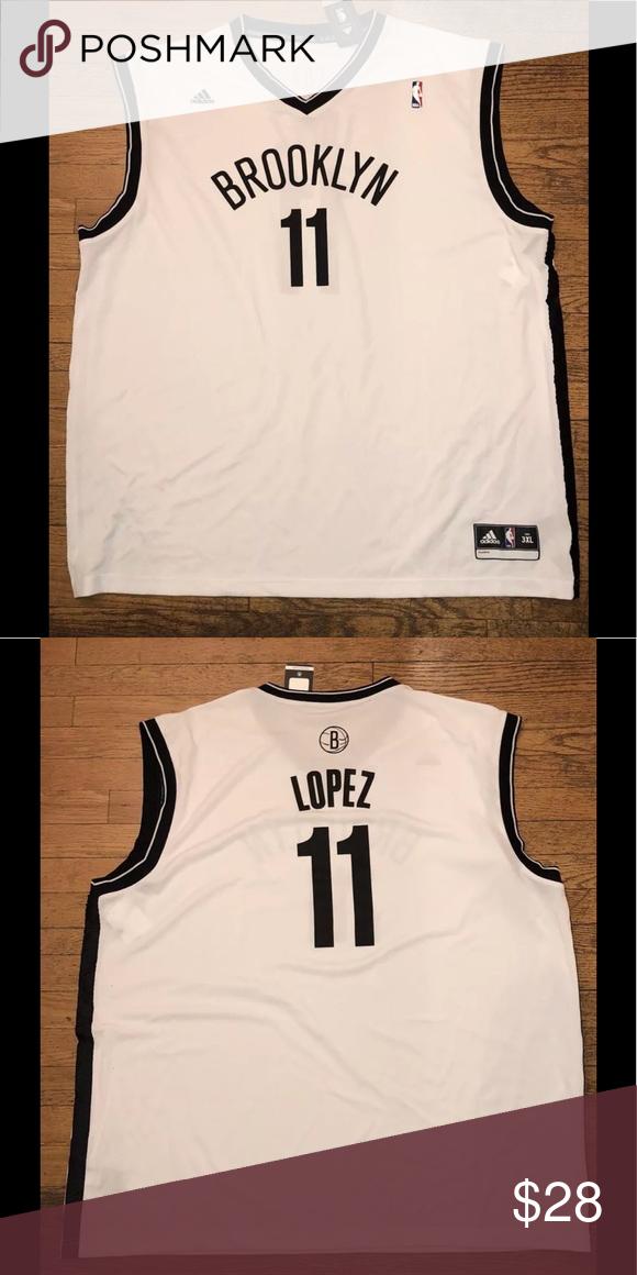 super popular 40f8a b1de8 Adidas NBA Swingman Jersey Brooklyn Nets Lopez Up for sale ...