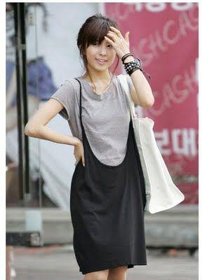 Source Korean Cute Dresses Products at Plus Size Dress ...