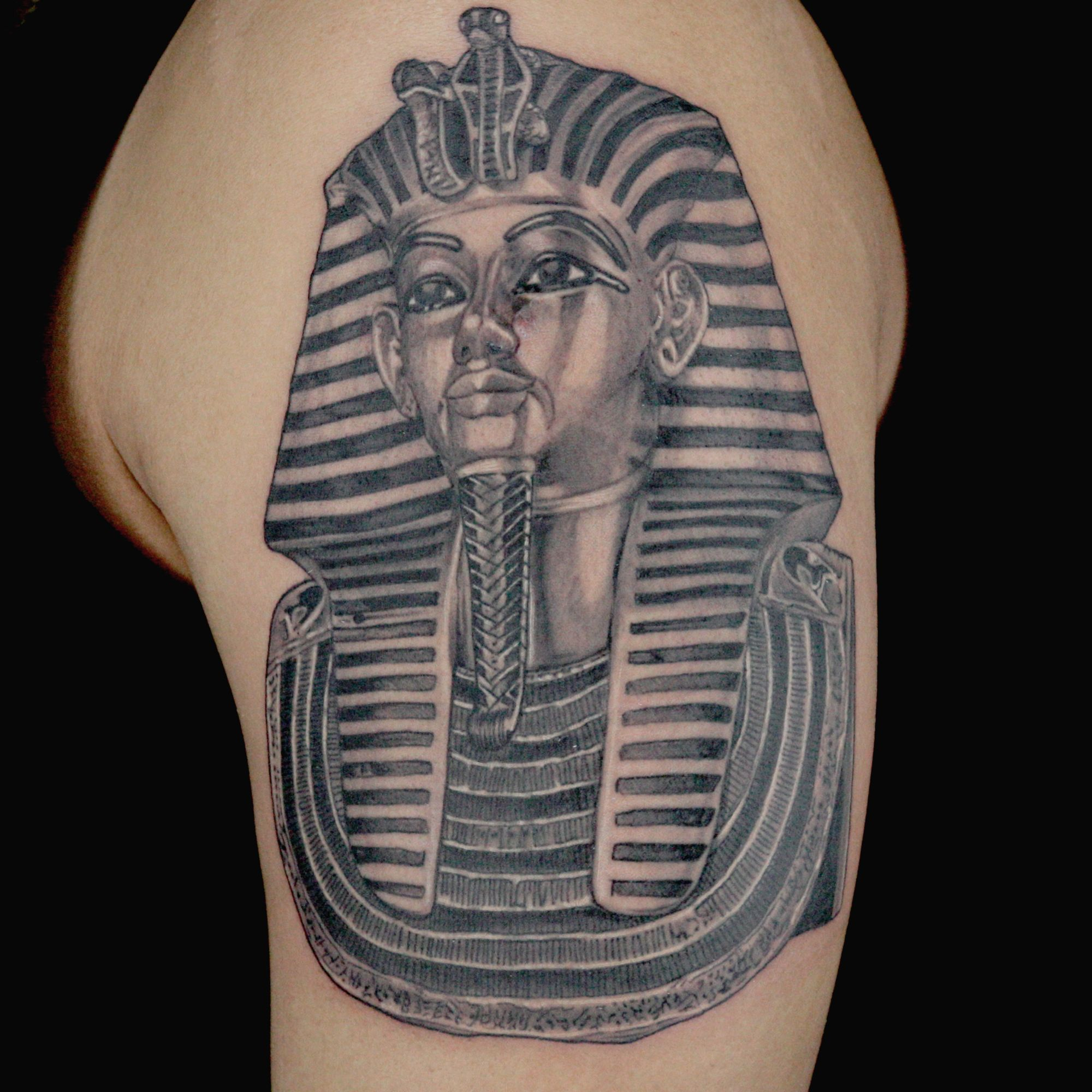 Airplane tattoo designs bodysstyle - Check Out This High Res Photo Of Big Ceeze S Tattoo From The Egyptian Episode Of Ink