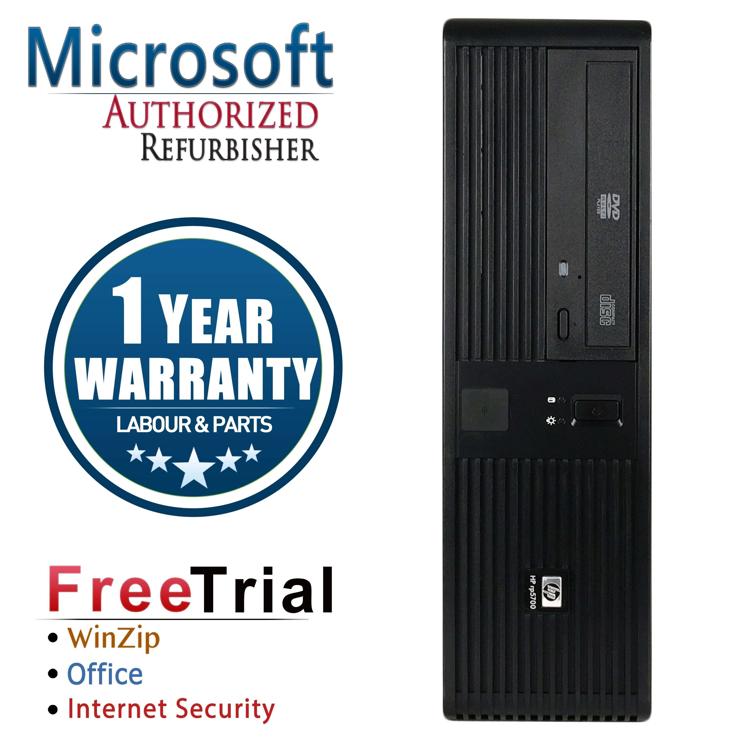 Refurbished HP RP5700 SFF Intel Core 2 Duo E6400 2.13G 4G DDR2 500G DVD Win 7 Home Premium 1 Year Warranty