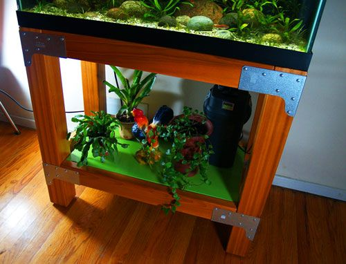 Loft house cube aquarium projects