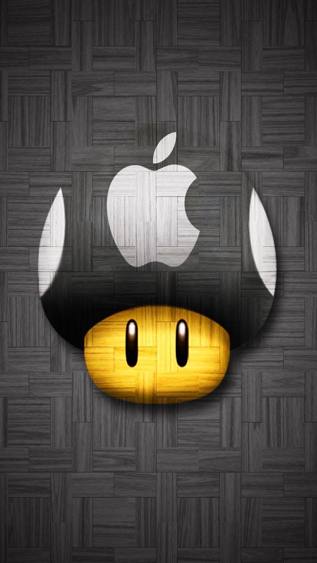 Fond D Ecran Gratuit Ipod Wallpaper Mushroom Wallpaper Mario Art
