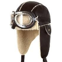 Gorro Piloto Aviador Orejeras Con Goggles Lentes Incluidos!   PARA ... 5743207e7f