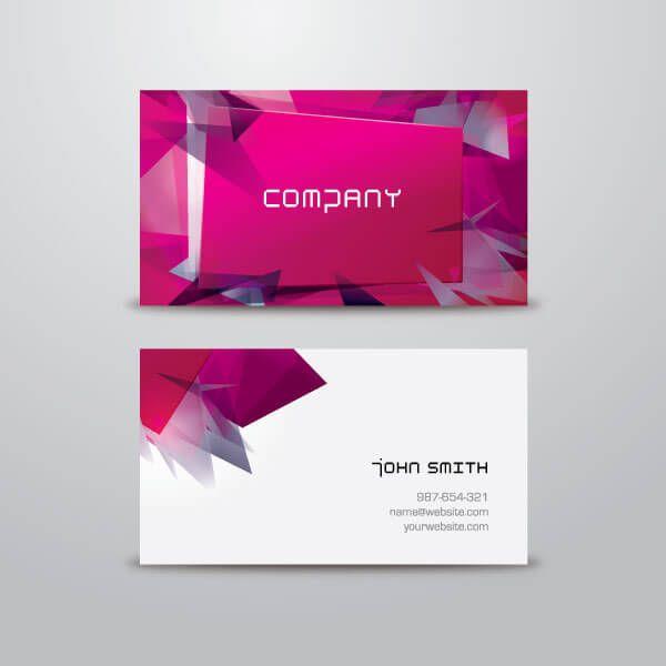 Business card design template vector modern business card design template vector flashek Gallery
