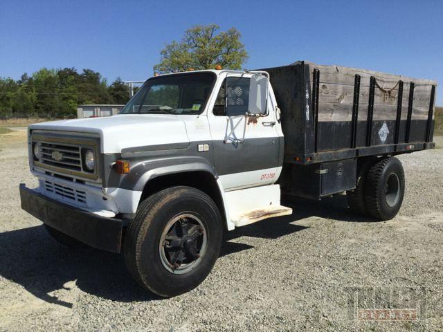 1986 Chevrolet C70 Flatbed Dump Truck Trucks Dump Trucks Chevrolet