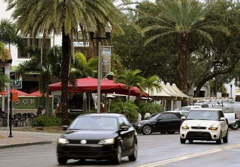 St. Petersburg's Beach Drive is a bustling hub of activity Tuesday, a reflection of the revival of the urban core. Recent articles in The New York Times and British newspaper The Independent have touted St. Petersburg as a hip place to be.