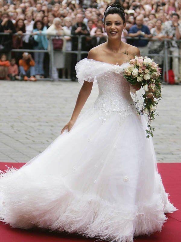 Die schönsten Brautkleider der Hollywood Stars | bezaubernde Bräute ...