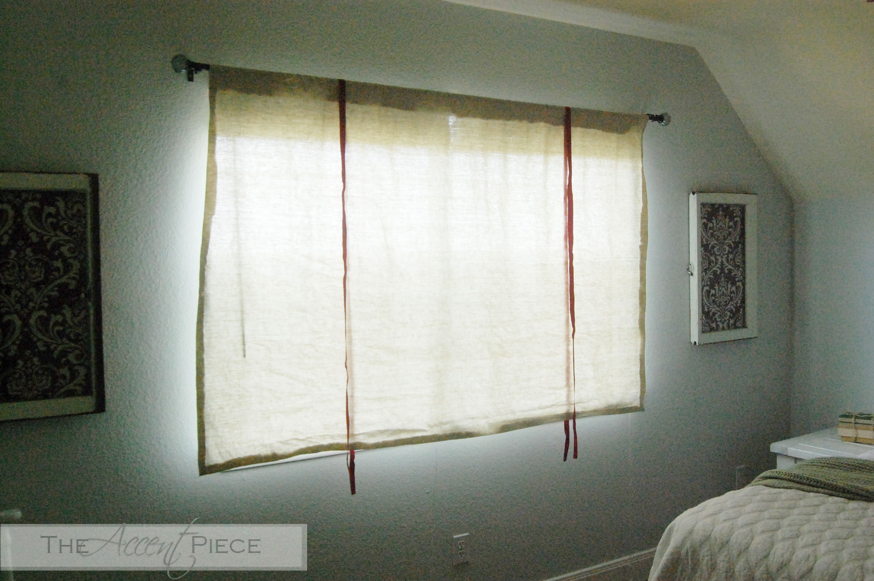 Diy Tie Up Curtain
