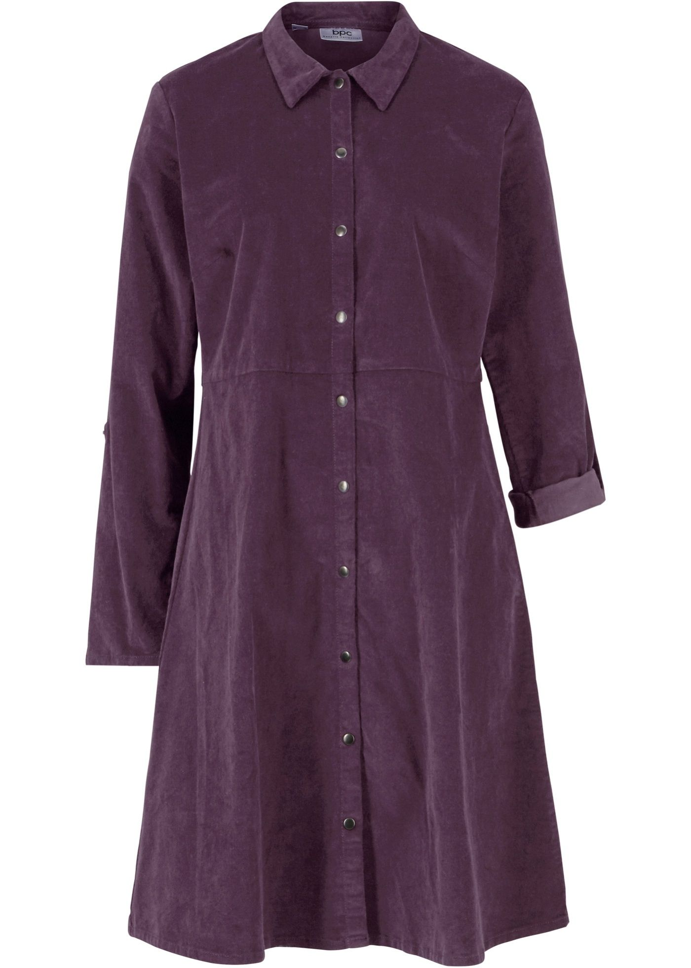 John Baner JEANSWEAR Damen Shirtkleid, bedruckt in blau: Maschinenwaschbar, Länge in Größe 42 ca. 96cm. - Ganzteile von bonprix. Weitere überraschend günstige Ganzteile finden Sie auf bonprix.de.