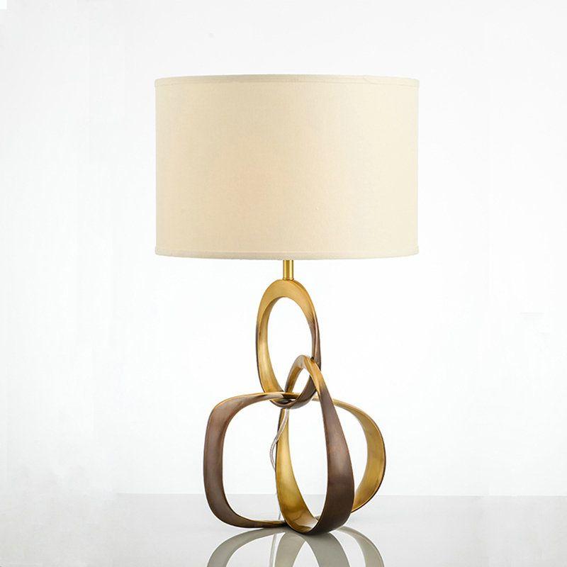 Contemporary Simple Table Lamp Unique Fixture Copper Table Lamp Bedside Living Room Desk Contemporary Bedside Lamps Stylish Table Lamps Bedside Lamps Australia