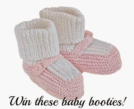2justByou: Mary Jane Baby Booties {Renattoni #Giveaway}
