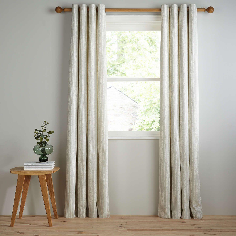 Scandinavian Decorideas: BuyJohn Lewis Xander Pair Lined Eyelet Curtains, Grey