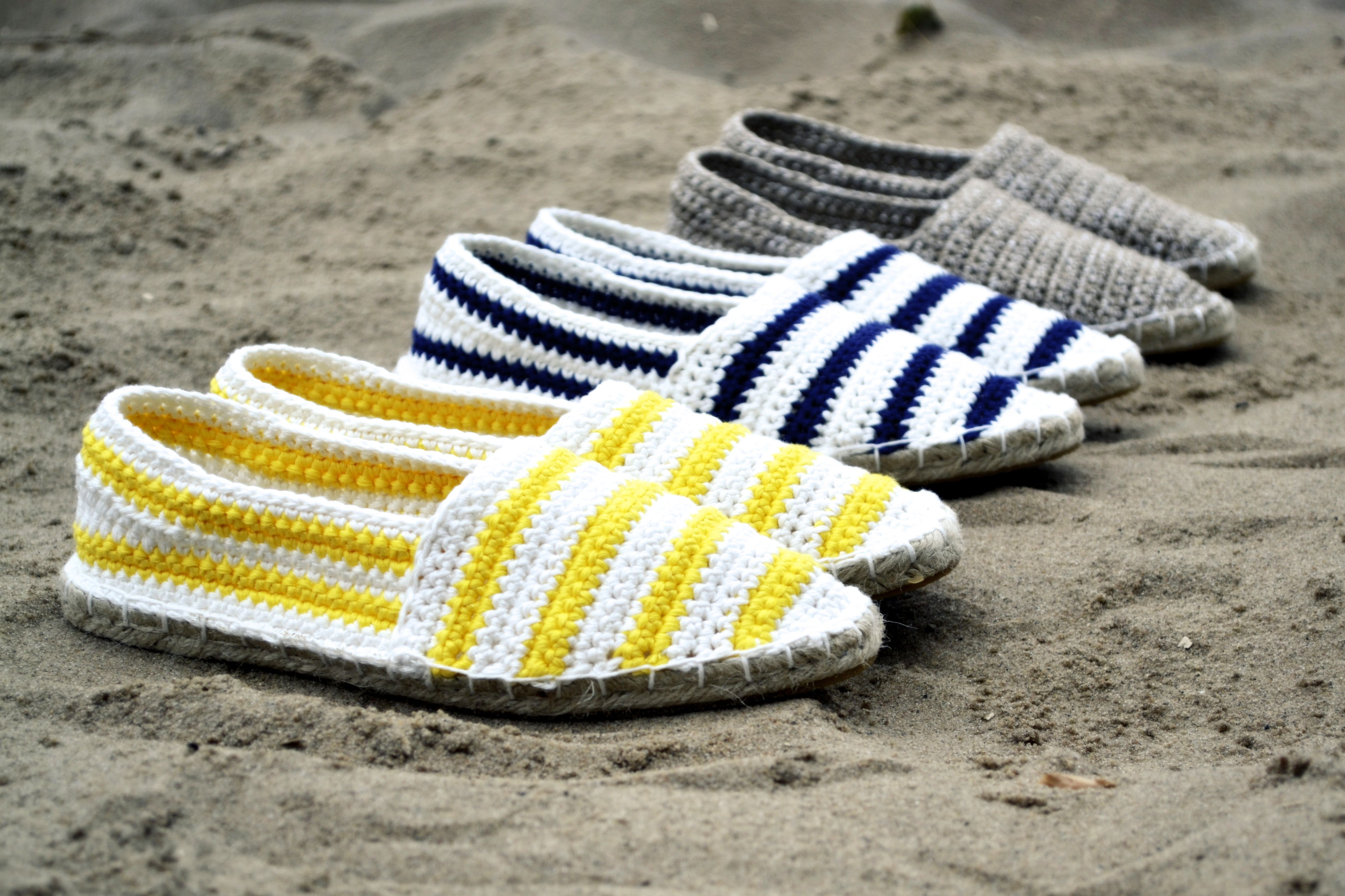 Espadrilles Nautical Häkelanleitung E Book Pinterest