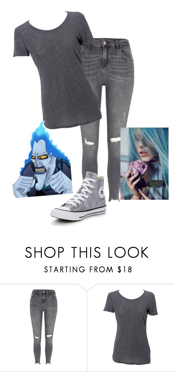 """""""Hades"""" by metteaadahl on Polyvore featuring River Island, Simplex Apparel and Converse"""