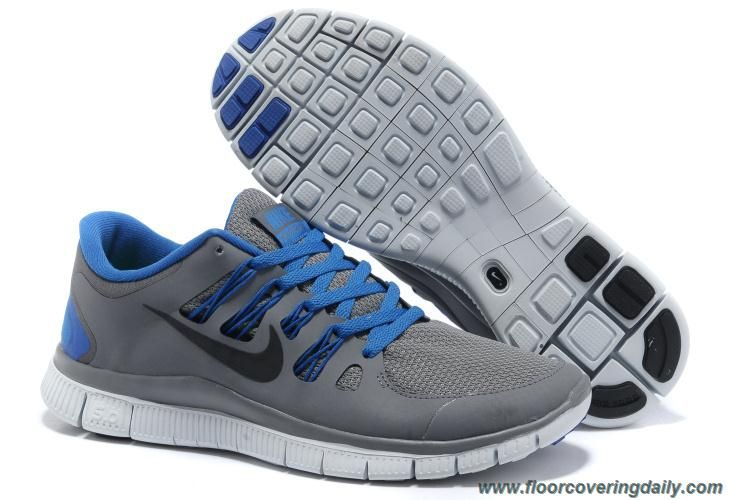 0bce26323d54 Mens Nike Free 5.0 Grey Blue Black 579959-004 Sale