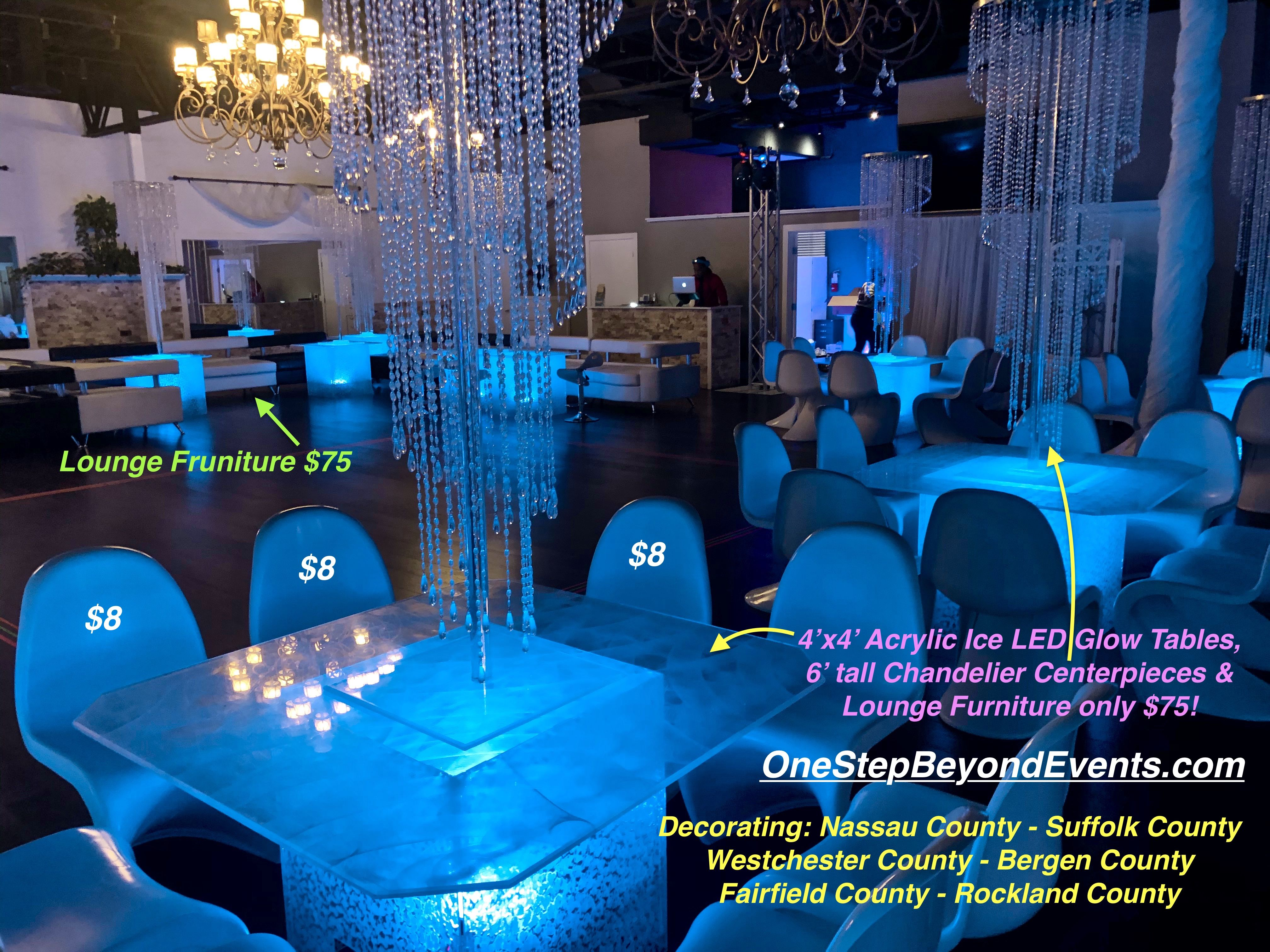Pin On Acrylic Ice Led Cocktail Table Rentals Orlando And Beyond