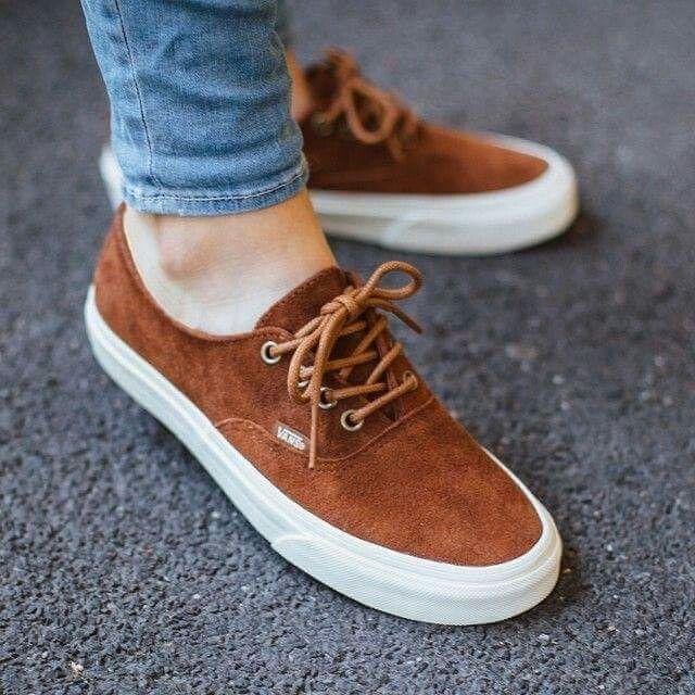 vans leather laces womens