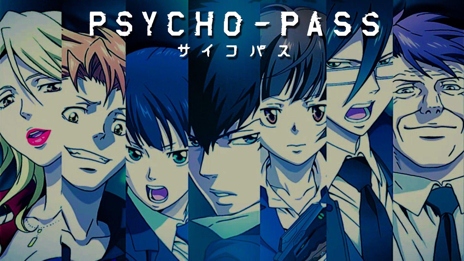Shion, Kagari, Yayoi, Kogami, Akane, Ginoza, Masaoka; This