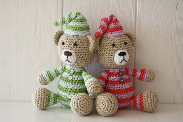 Amigurumi Bear Nose : How to stitch teddy bear nose lilleliis amigurumi