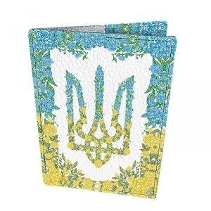 Devays Maker  Обложка для паспорта Герб из цветов
