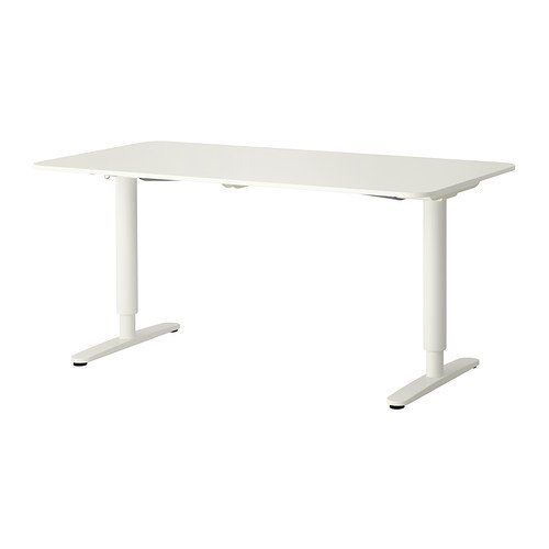 Merveilleux Ikea Bekant Desk Sit/Stand, White