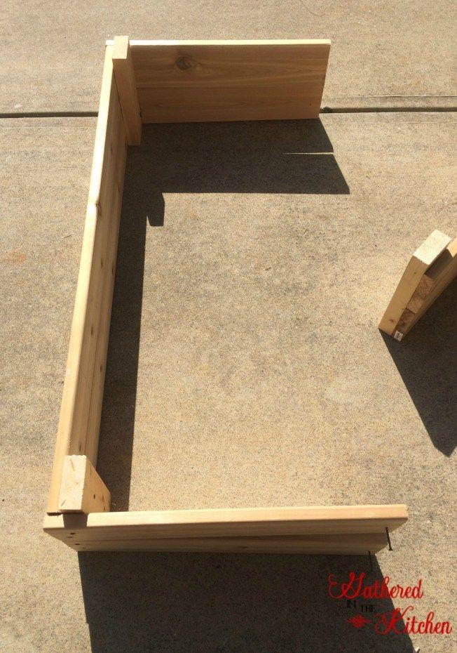 DIY Raised Garden Bed Beginner Level Building a raised