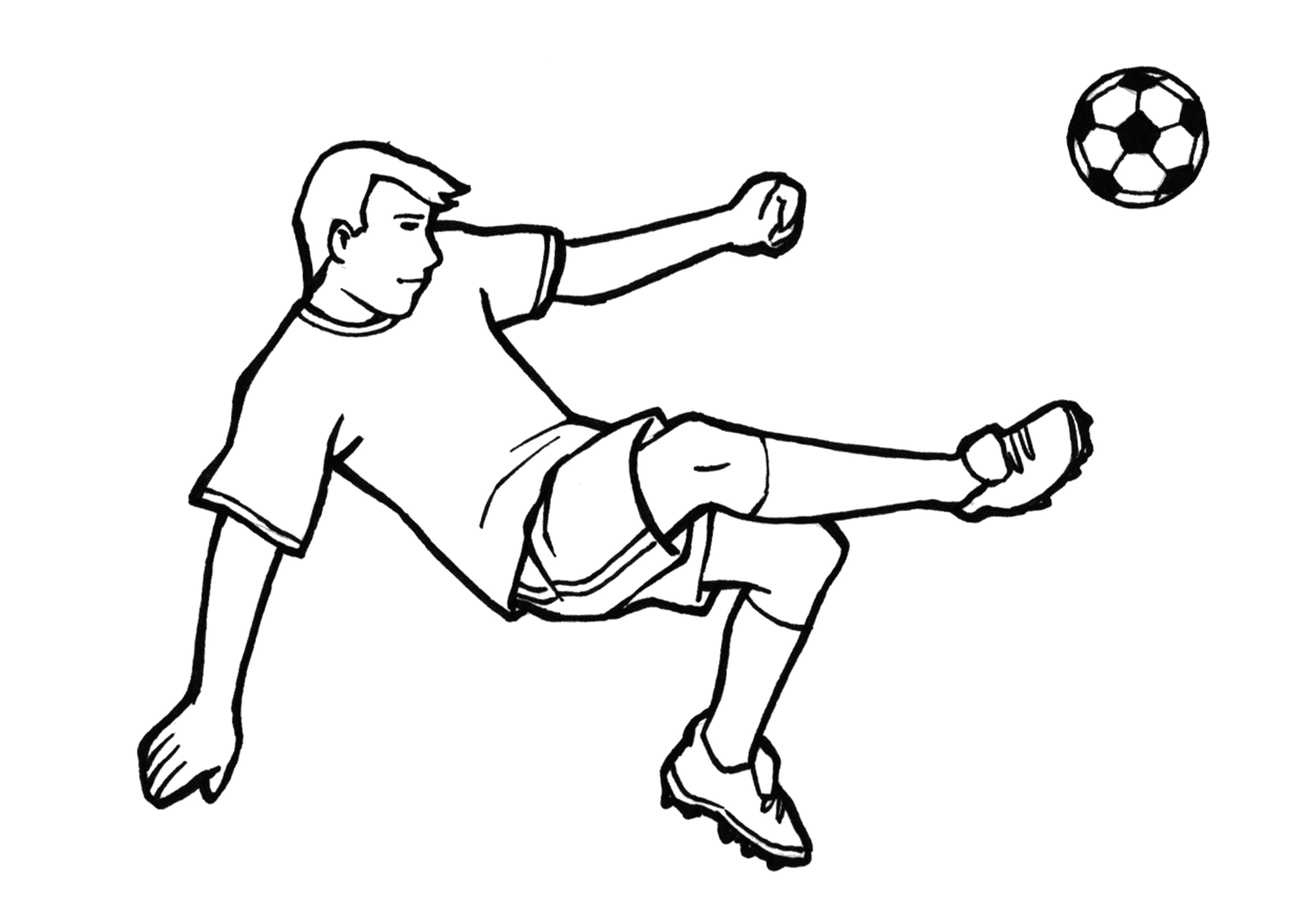 Malvorlagen Fussball Ausdrucken - Kostenlose Malvorlagen Ideen