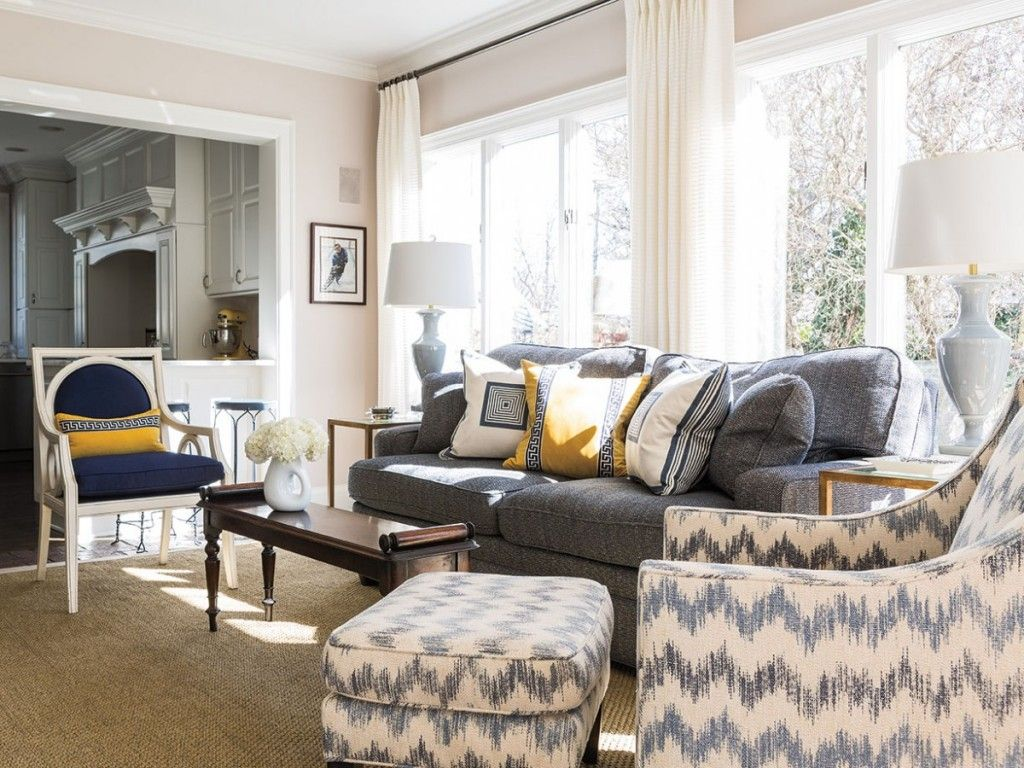 Interior Designer Kelly Lambert Fashions A Crisp, New Look For The Home Of  A Busy. Kansas CityFresh ...