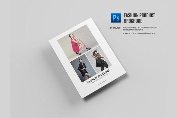 Fashion Product Brochure/Catalog-558 @creativework247 Brochure - fashion design brochure template