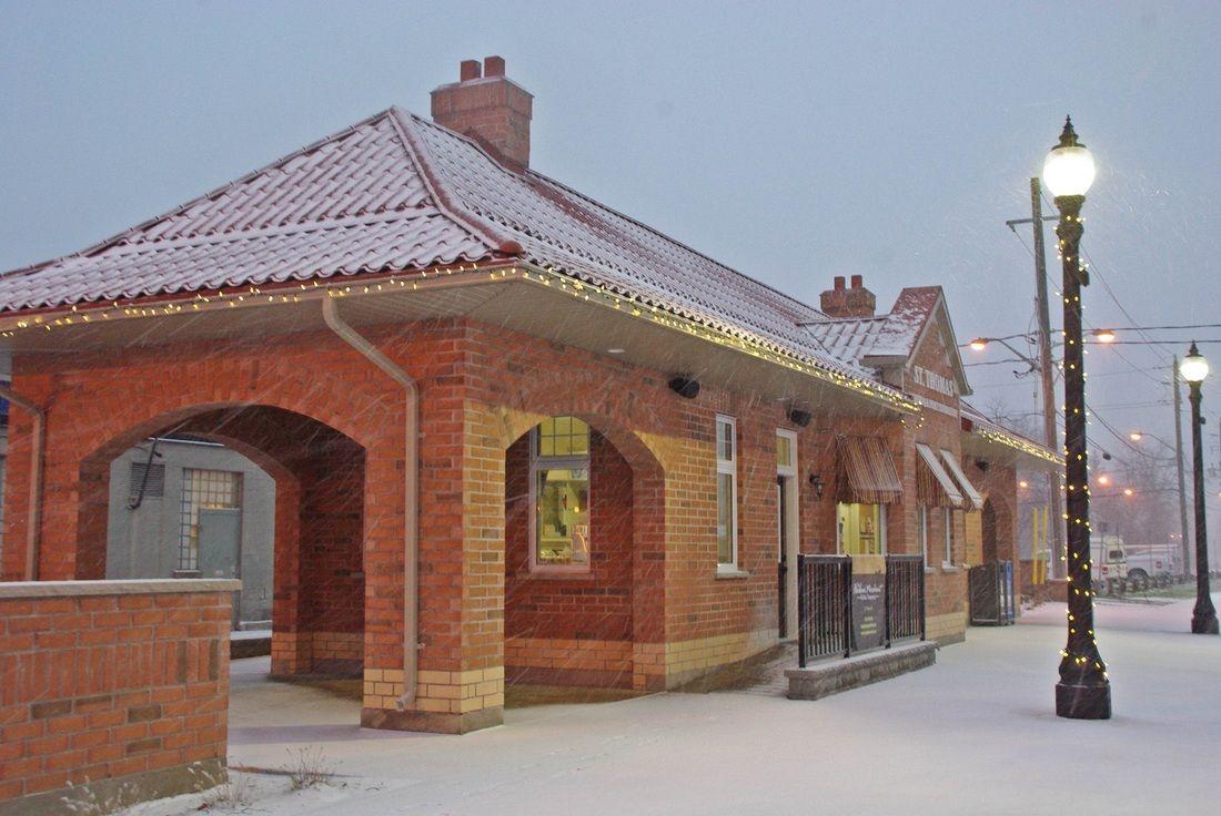 Railway City Tourism City, Tourism, Christmas lights