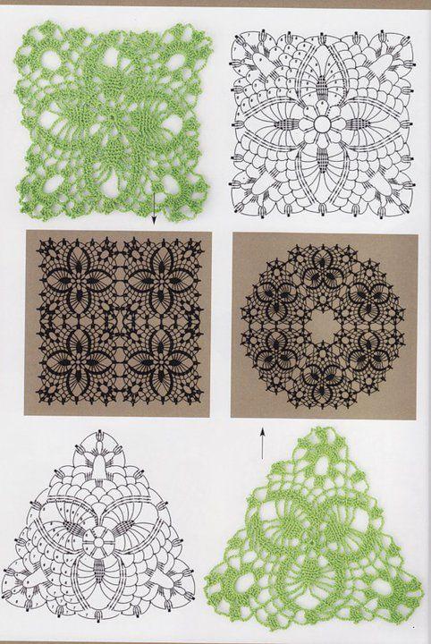 Cuadros a crochet patrones - Imagui | Crochet | Pinterest | Crochet ...