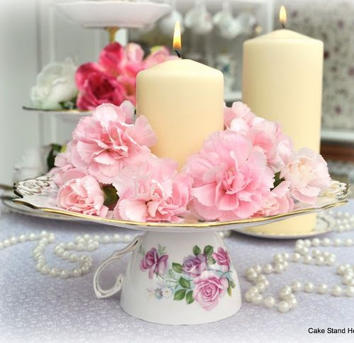 Host a Mother\u0027s Day Tea Party with Vintage Decor Mother\u0027s Day Tea