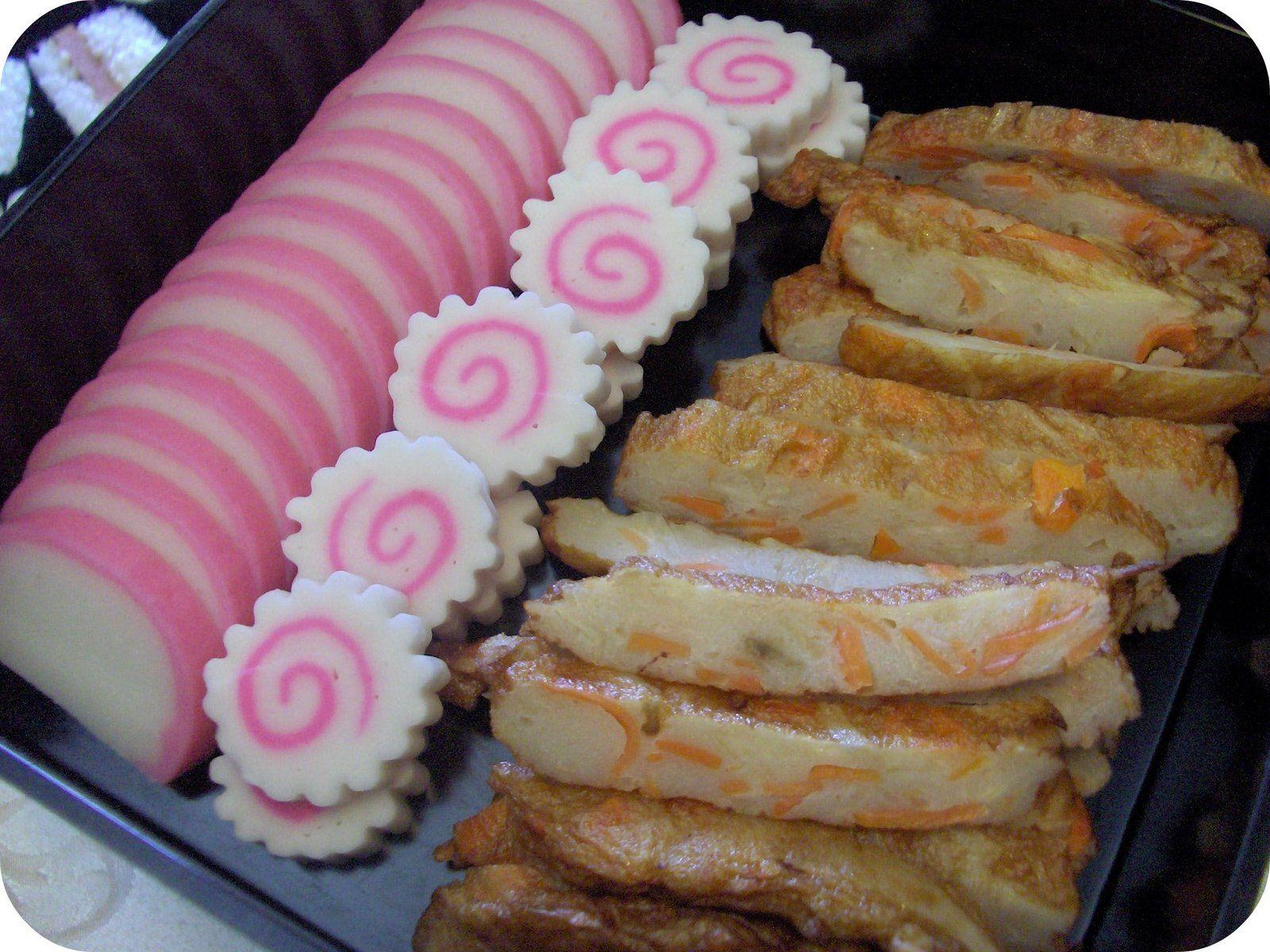Kamaboko fish cake (New Year Food) Japanese new year