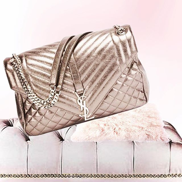 I love shiny things like a dog loves a ball. I can t have enough and this   ysl metallic bag is screaming my name. 8f4f443d39