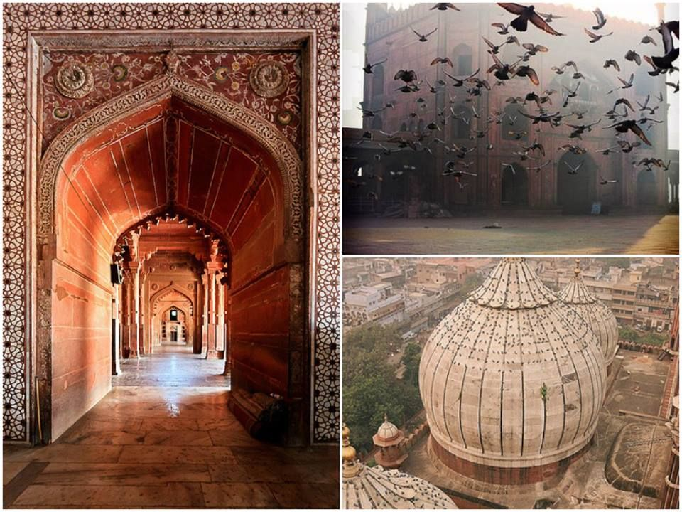 This weekend explore the old beauties of Delhi. The charm of Old Delhi, Jama Masjid situated in the midst of the busy street of Chandni Chowk, Delhi. Just a ten minute metro ride from http://www.hoteljivitesh.com/  Karol Bagh - Rajiv Cowk - Chandni Chowk