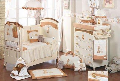 Cunas y set de muebles para dormitorios de bebes ni os - Dormitorios bebe nina ...