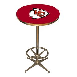 Kansas City Chiefs NFL Pub Table. . Click Picture to Purchase.